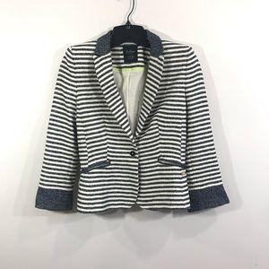 {Zara} Striped Blazer